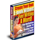 Create Your Own Ebooks